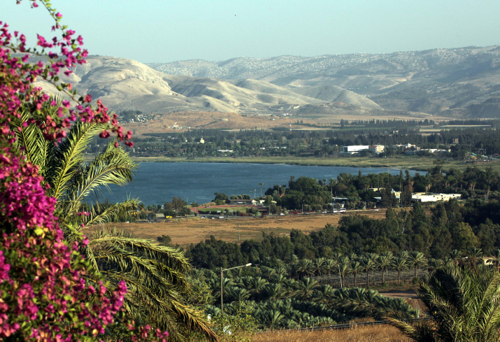 A view on the Sea of Galilee, also known in Hebrew as the Kinerret, on November 8, 2010.  Photo by Yossi Zamir /Flash90    *** Local Caption *** ???? ????? ??? ????? ??? ????