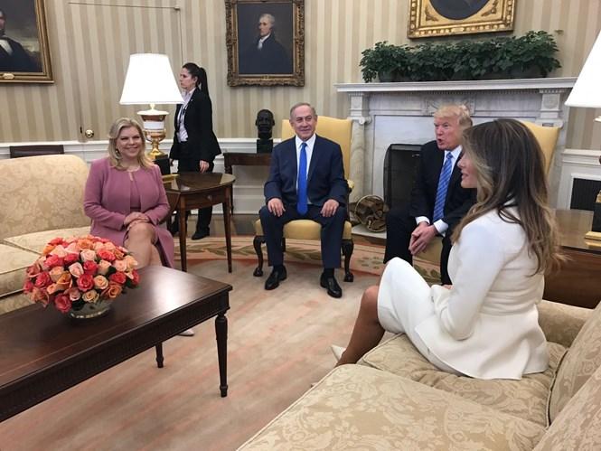 Bibi et trump dans le bureau ovale lph info