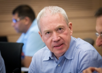 Israeli Minister of Construction Yoav Galant attends an Economic Affairs committee meeting in the Israeli parliament on July 12, 2016. Photo by Miriam Alster/FLASH90 *** Local Caption ***  ???? ???? ???? ????? ?? ??????