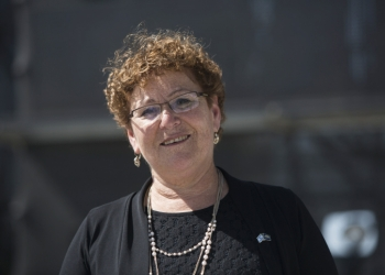 Miriam Peretz seen during the rehersal held at Mount Herzl in Jerusalem in honour of Israel's upcoming 66nd Independence Day. May 1, 2014. Photo by Yonatan Sindel/Flash90 *** Local Caption *** ???? ?????? ??? ????? ?????? 2014 ? ??? ? ??????  ???? ???