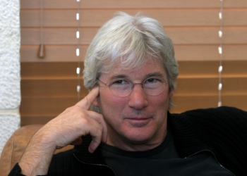 **FILE2005** Portrait of actor Richard Gere on a visit to Israel on April 06, 2005. Photo by Flash90  *** Local Caption *** ?????? ??? ?????? ?????