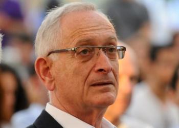 """Portrait of Haaretz daily newspaper publisher Amos Schocken, September 4, 2011. Photo by Flash90 *** Local Caption *** òîåñ ùå÷ï îå""""ì òúåï  äàøõ"""