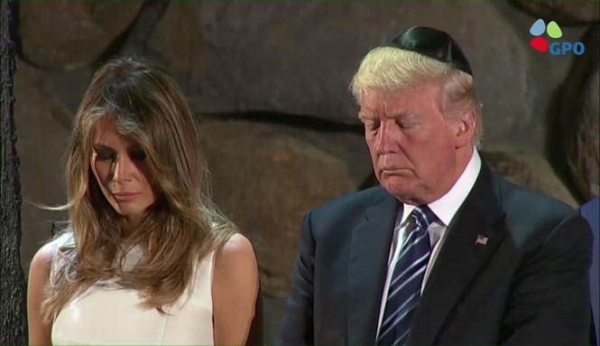 Donald Trump à Yad Vashem