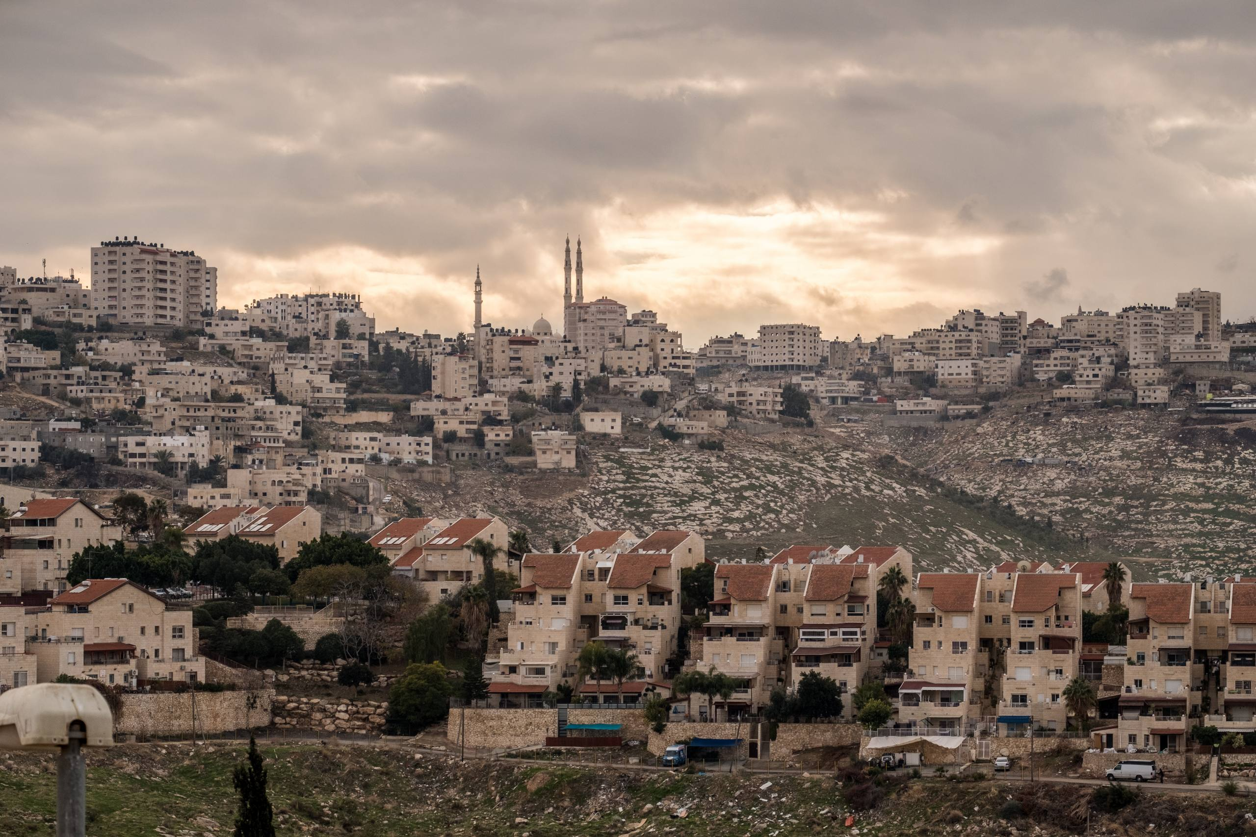 "View of the Israeli settlement of Maale Adumin, in the West Bank on January 4, 2017. Photo by Yaniv Nadav/Flash90 *** Local Caption *** מעלה אדומים התנחלות ש""י התנחלויות מבט"