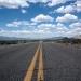 Desert Landscape Lines Perspective Road Horizon
