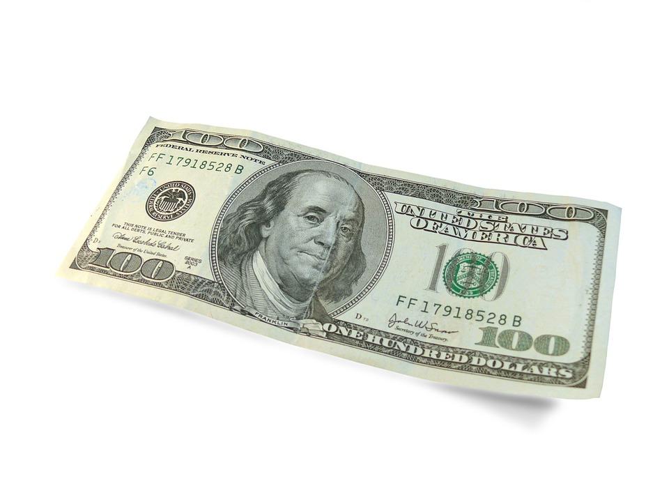 Usa America Dollars Dollar 100 Money Currency