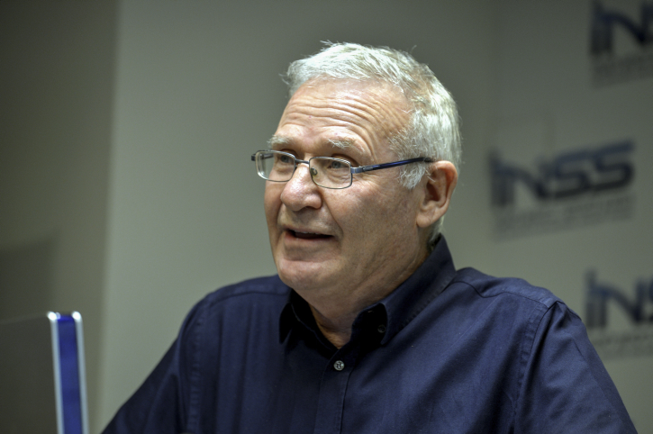 INSS (Institute for National Security Studies) Chairman Amos Yadlin, speaks during a conference marking the 10th anniversary since the Second Lebanon War, on July 14, 2016. Photo by Flash90 *** Local Caption *** ???? ????? ????? ?????? ?????? ????? ????? ????? ?????? ????? ????? ???? 10 ???? ??? ?????