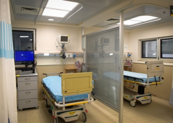 The new trauma room of the Sheba Medical Center in Ramat Gan, on April 4, 2017. Photo by Avi Dishi/Flash90 *** Local Caption *** ???? ??? ???? ??? ?????? ??? ????? ??? ??