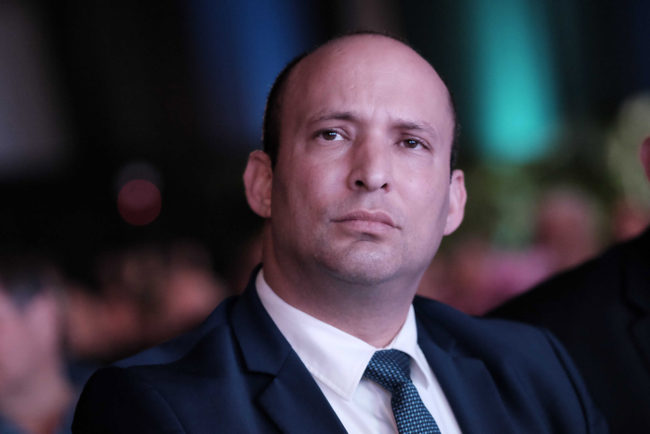 Education Minister Naftali Bennett attends the Muni Expo 2018 conference at the Tel Aviv Convention Center on February 14, 2018. Photo by Tomer Neuberg/Flash90 *** Local Caption *** ?????? ??????? ?? ?????? ????? ???