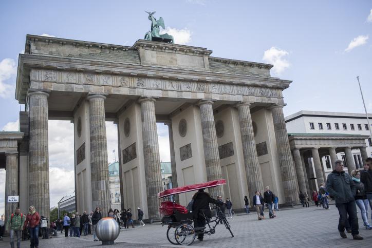 The Brandenburg Gate Berlin, Germany. May 15, 2016. Photo by Hadas Parush/Flash90  *** Local Caption *** ????????? ??? ?????? ?????? ????? ??????