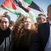 Palestinian teenager Ahed Tamimi is welcomed by relatives and supporters after she was released from Ofer prison on July 29, 2018. 17-year old Tamimi had served an eight-month sentence for slapping and shoving IDF soldiers outside her home in the West Bank village of Nebi Saleh late last year. Photo by FLASH90 *** Local Caption *** ??? ?????