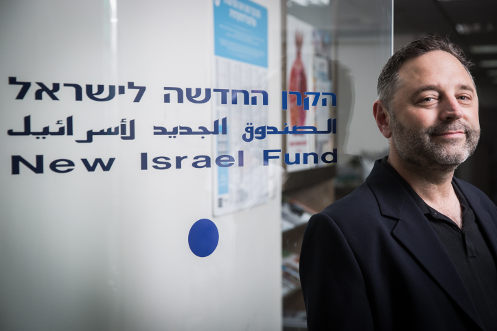 Portrait of Daniel Sokatch, CEO of the New Israel Fund, at his office in Jerusalem, June 4, 2015. Photo by Hadas Parush/Flash90  *** Local Caption *** ???? ???? ????? ????? ?????'