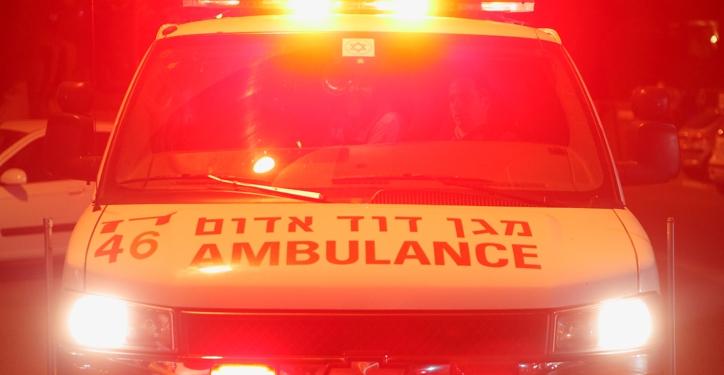 **FILE** An ambulance car. March 29, 2012.  Photo by Yaakov Naumi/Flash90. **YATED NEEMAN & KIKAR SHABAT & KOOKER OUT** *** Local Caption ***  ???????