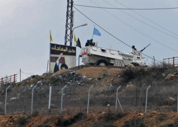 UNIFIL force patrol near the Lebanese border  in the village of Metula  on Saturday Febuary 16. 2008. As part of increasing alertness due to killing of Imad Moughniyeh last week.   Photo by Hamad Almakt/Flash 90     *** Local Caption *** ????? ???? ????? ??????? ???????