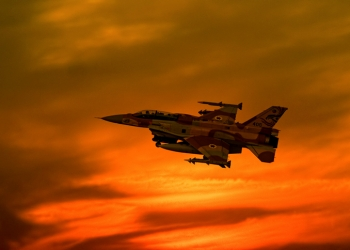 "An Israeli F-16I Fighting Falcon aircraft takes off at sunset from the Ramon army base in Israel on November 08, 2006. Photo by Ofer Zidon/Flash90 *** Local Caption *** ??? ???? ????? ???? ??? ?? 16 ???? ?????  ??""?  ??""?"