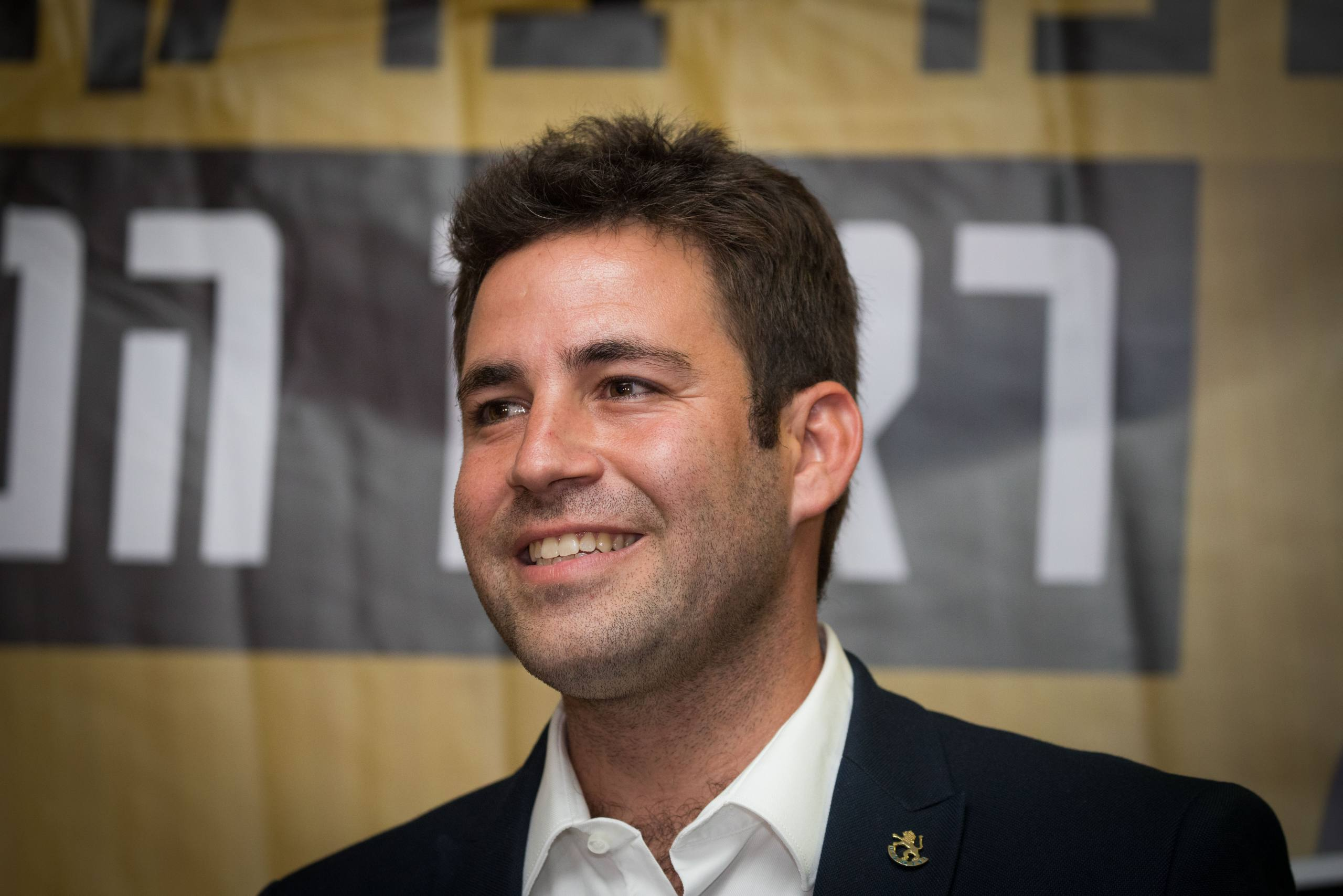 "Ofer Berkovitch, Jerusalem Mayoral candidate and head of ""Hitorerut"" (Awakening) movement is seen at the opening of ""Hitorerut"" election campaign in Jerusalem on September 2, 2018. Photo by Yonatan Sindel/Flash90 *** Local Caption *** áçéøåú éøåùìéí áø÷åáéõ òåôø è÷ñ ôúéçä ñâï øàù òéøééú éøåùìéí òåôø áø÷åáéõ"