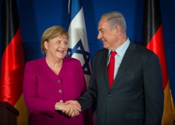 Israeli prime minister Benjamin Netanyahu and German chancellor Angela Merkel during a joint press conference at the King David Hotel in Jerusalem on October 4, 2018. Photo by Hadas Parush/Flash90 *** Local Caption ***  ??? ?????? ?????? ??????  ?????? ????? ????? ????? ????