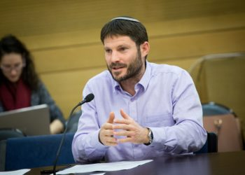 Israeli parliament member Bezalel Smotrich attends a Knesser committee meeting in the Israeli parliament. January 02, 2016. Photo by Miriam Alster/FLASH90 *** Local Caption *** ???? ?????? ???? ????