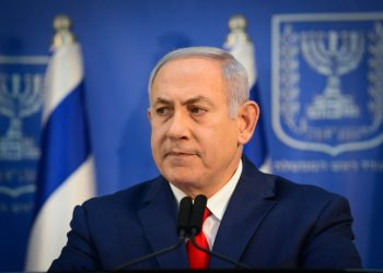 Prime Minister Benjamin Netanyahu speaks during a press conference at the Kirya government headquarters in Tel Aviv, on November 18, 2018. Photo by Tomer Neuberg/Flash90 *** Local Caption *** ??? ?????? ?????? ?????? ????? ???????? ?????? ?? ????