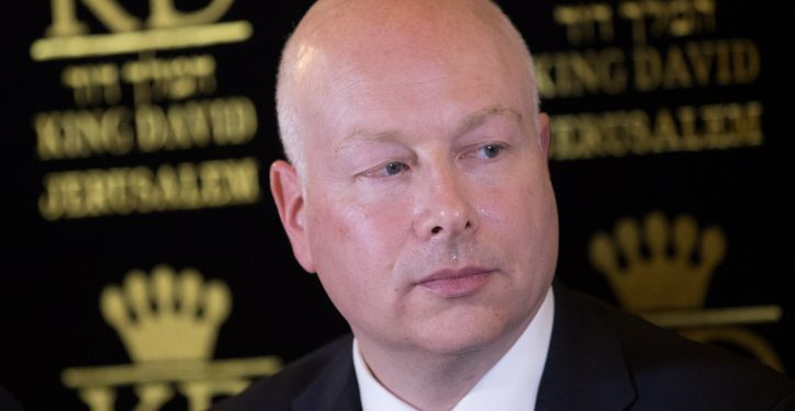 US Special Envoy Jason Greenblatt attends a press conference regarding the water agreement between Israel and the Palestinian Authority. Photo by Yonatan Sindel/Flash90    *** Local Caption ***  ????? ???????? ????? ?????? ??? ?????  ?????????? ????? ???????? ???? ????? ????????  ????? ?????? ????? ?????? ???? ????? ???????? ?'????? ???????
