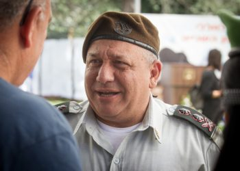 IDF Chief of Staff Gadi Eisenkot attends a ceremony marking the 10th anniversary since the Second Lebanon War at the Mount Herzl military cemetery in Jerusalem on July 19, 2016. Photo by Miriam Alster/Flash90 *** Local Caption *** ????? ????? ????? ????? ??? ??????? ????? ????? ????? 10 ???? ?????