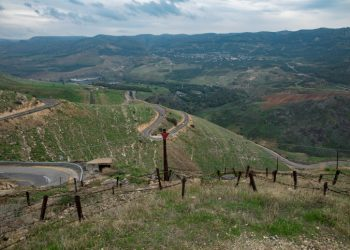 The border with Jordan, in the Southern Golan Heights, northern Israel. December 29, 2018. Photo by Anat Hermony/Flash90 *** Local Caption *** ????? ??? ??? ???? ??? ???? ???? ????