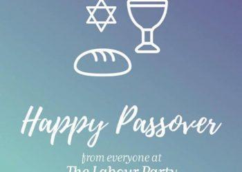 Happy Passover Labour