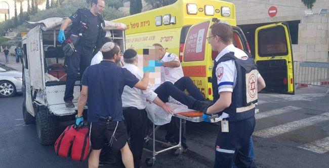 BREAKING: attentat au couteau à Jérusalem