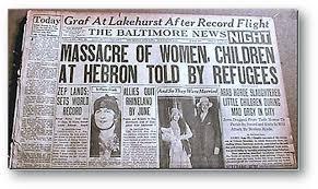 Il y a 90 ans: le terrible massacre de Hevron
