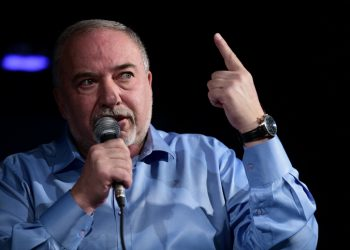 Israel Beytenu chairman Avigdor Liberman speaks during a Friday Culture event in Givatayim, on September 13, 2019. Photo by Tomer Neuberg/Flash90 *** Local Caption *** ?????? ??? ????? ??????? ??????? ??????? ?????? ????? ??????