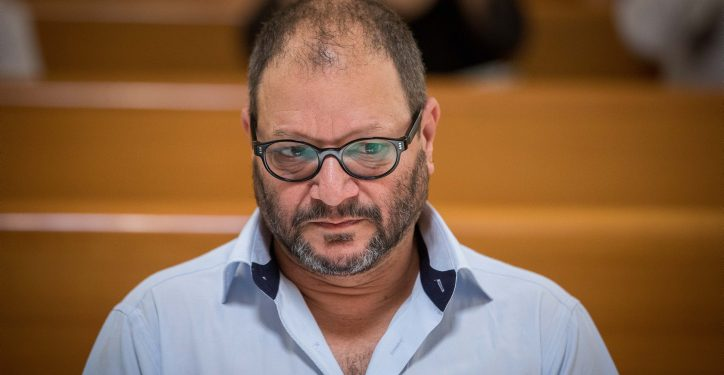 Joint List Political party member MK Ofer Ksif seen at a court hearing at the Supreme Court in Jerusalem asking to disqualify the Joint List of Arab parties from running in the upcoming September elections, August 22, 2019. Photo by Yonatan Sindel/Flash90 *** Local Caption *** ??? ????? ?????? ??? ???? ????? ?????  ??????  ???? ???? ?????? ???????