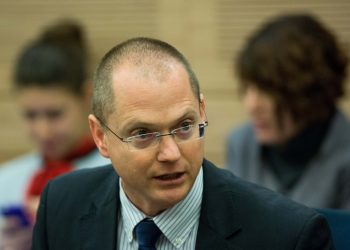 Israel Beyteinu parliament member Oded Forer attends an Education, Culture and Sports committee meeting in the Israeli parliament on December 22, 2015. Photo by Yonatan Sindel/Flash90 *** Local Caption *** ???? ???? ????  ?''?  ????? ????? ???? ?????? ?? ????? ????? ??? ???????