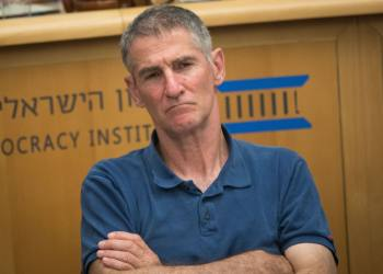 Retired major general Yair Golan attends a discussion held at the Israel Democracy Institute in Jerusalem on July 7, 2019. Photo by Yonatan Sindel/Flash90 *** Local Caption *** ???? ???? ????? ????? ????????? ???? ????? ???? ????