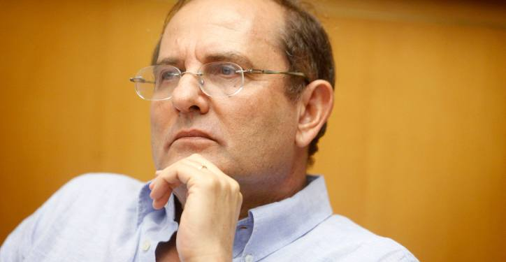 Professor Mordechai Kremnitzer seen participating in a discussion at the Israel Democracy Institute in Jerusalem. October 17, 2012. Photo by Miriam Alster/FLASH90  *** Local Caption *** ????? ???????  ???? ??????? ?????????