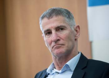 MK Yair Golan attends a Meretz- Labor-Gesher party meeting at the Knesset, the Israeli parliament in Jerusalem, on February 17, 2020. Photo by Yonatan Sindel/Flash90 *** Local Caption *** ??? ????? ????? ???? ???? ?????? ????? ?????? ???? ????