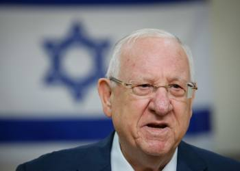 President Reuven Rivlin casts his ballot at a voting station in Jerusalem, during the Knesset Elections, on March 2, 2020. Photo by Olivier Fitoussi/Flash90 *** Local Caption *** ????? ?????? ???? ????? ???? ????? ????? ??????