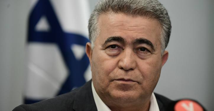 Chairman of the Labor party Amir Peretz seen during a press conference with Meretz leader Nitzan Horowitz and party members in Tel Aviv on March 12, 2020. Photo by Tomer Neuberg/Flash90 *** Local Caption *** ??? ????? ????? ???? ????? ?????? ????? ?????? ???? ??? ???? ???????
