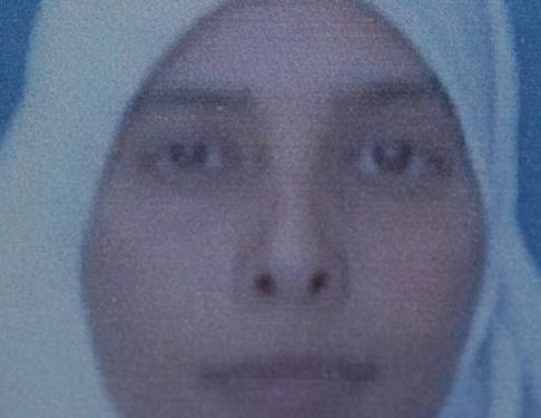 **file 21.10.2003** Hamas terrorist Ahlam Tamimi is one of the prisoners who  is scheduled to be released in the Gilad Shalit deal. Tamimi was involved in the bombing of the Sbarro restaurant and killed 15 people was sentenced to 16  life terms. Photo by Flash90 *** Local Caption *** ???? ????? ????????? ????? ????? ????? ????? ???? ???? ????