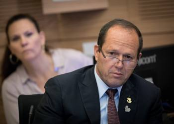 Jeruslaem Mayor Nir Barkat attends a Finance committee meeting in the Israeli parliament on May 29, 2017. Photo by Yonatan Sindel/Flash90 *** Local Caption *** ??? ???? ???? ????? ??? ???? ???????