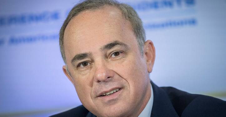 Israeli minister of National Infrastructure Yuval Steinitz attends the Conference of Presidents of Major American Jewish Organizations, at the Inbal Hotel in Jerusalem, on February 20, 2017. Photo by Yonatan Sindel/Flash90  *** Local Caption *** ???? ??????? ????? ??????? ?? ???????? ???????? ??????? ??????? ????? ???? ???????