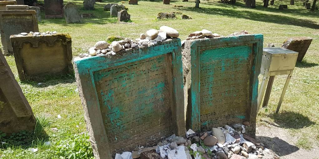 Allemagne : le vieux cimetière juif de Worms profané