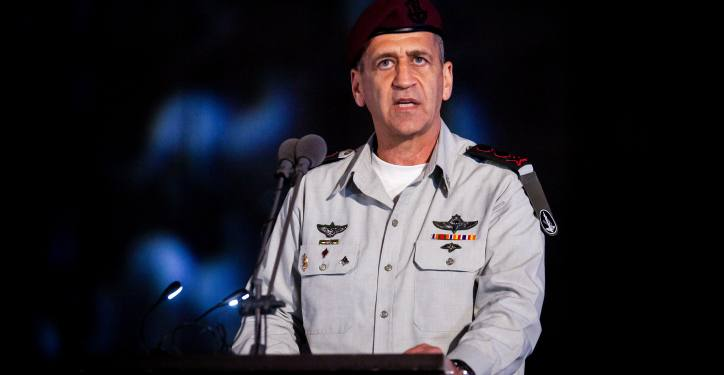 "IDF Chief of Staff Lt. Gen. Aviv Kochavi at a graduation ceremony of naval officers of the Israeli Navy in Haifa Naval Base, Northern Israel on March 4, 2020. Photo by Flash90 *** Local Caption *** ???? ???? ??? ???? ????? ???? ???? ??? ????? ??? ????? ???? ????? ????""? ????? ????? ???? ?????? ??? ???"