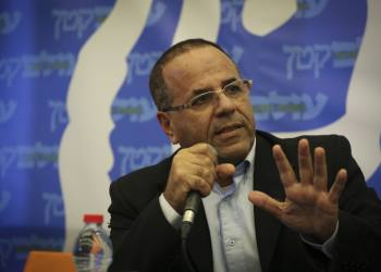 Candidate for Knesset, Eyob Kara, speaks on a political pannel ahead of Knesset elections to religious Jewish highschool students, at Lev Institute in Jerusalem, on January 21, 2015. The students heard the MK's speak to different questions and topics, and then did a mock-up elections vote. Photo by Hadas Parush/Flash90 *** Local Caption *** ??????? ?????? ????? ?????? ???? ???????? ???? ???? ????? ??? ???? ??? ??? ?????? ????? ?????? ????? ????? ?????? ????? ???????'