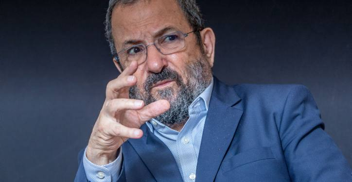 **FILE** Former Israeli Prime Minister Ehud Barak seen during media interview in Tel Aviv on September 30, 2019. Photo by Yossi Aloni/Flash90 *** Local Caption ***  ???????? ???? ??? ?????? ????? ??? ????? ????? ????? ????