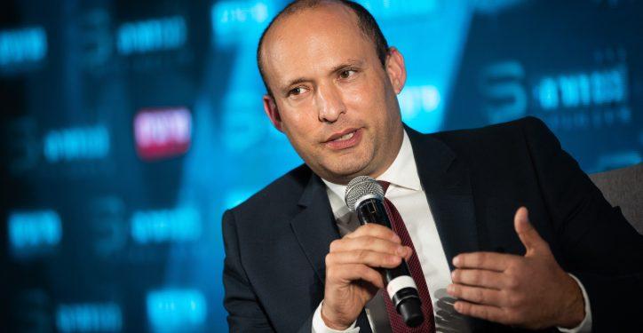 Yamina party member Naftali Bennett attends the Srugim conference in Jerusalem on September 2, 2019. Photo by Yonatan Sindel/Flash90 *** Local Caption *** ??? ?????? ??????? ???? ???? ?????? ????? ??? ?????