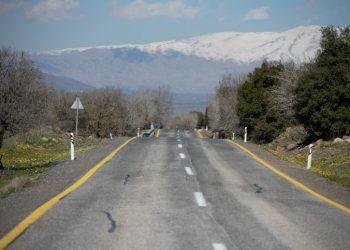 A general view of the Golan Heights with Mount Hermon covered with snow in Northern Israel, on February 6, 2020. Photo by Sraya Diamant/Flash90 *** Local Caption *** ?? ????? ??? ????? ????? ???