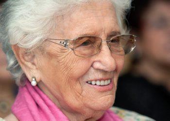 Ruth Dayan (Photo by Moshe Shai/Flash90)