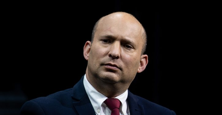 Yamina leader MK Naftali Bennett attends a conference of the Israeli Television News Company in Jerusalem on March 7, 2021. Photo by Yonatan Sindel/Flash90 *** Local Caption *** ????? ???????? ???? ?????? ?????? ????? ???????? ??? ????? ??? ????? ??? ????