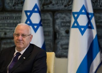 President of Israel, Reuven Rubi Rivlin, speaks during a meeting with the United Jewish Conservative Communities in North America, at the presidential residence in Jerusalem on September 10, 2014. Photo by Noam Revkin Fenton/Flash90 *** Local Caption *** ????? ???? ?????  ???? ??????