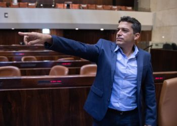 New Knesset member Amichai Chikli  seen at the Knesset , ahead of the opening Knesset session of the new government, on April 05, 2021. Photo by Olivier Fitousi/Flash90 *** Local Caption *** ??? ????  ???? ???? ??????  ????? ???? ???? ???? ????? ???? ????? ?????